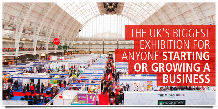 The UK's biggest exhibition for anyone starting or growing a business