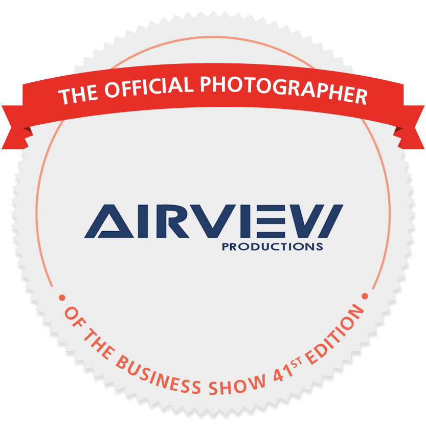 Airview Products: Offical Photographer of the Business Show 2019