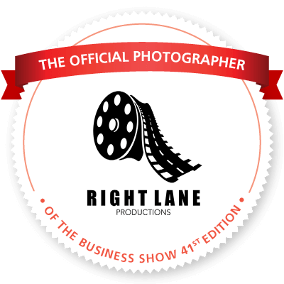 RightLane Productions: Offical Photographer of the Business Show 2019