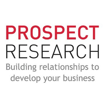 Prospect Research, Exhibiting at The Business Show