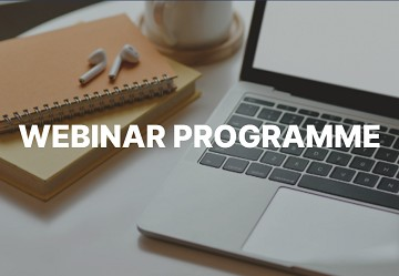 Introducing our webinar programme