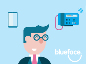 The difference in perception between a landline & mobile number for business