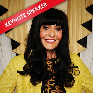 Hilary Devey CBE, Speaking at The Business Show