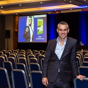 Andy Harrington: Speaking at The Business Startup Show