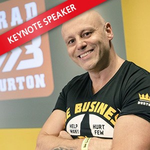 Brad Burton, Speaking at The Business Show