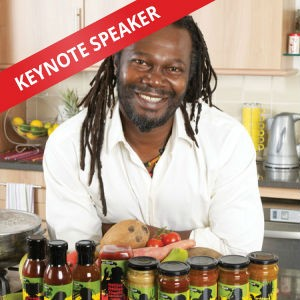 Levi Roots, Speaking at The Business Show