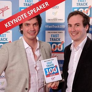 James Kinsella & Adam Carnell: Speaking at The Business Startup Show