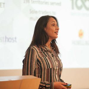 Sara Rego, Speaking at the Business Show