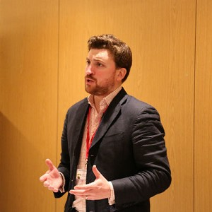 Oliver Rowbory, Speaking at the Business Show