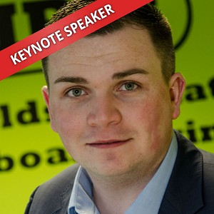 Jordan Daykin, Speaking at The Business Show