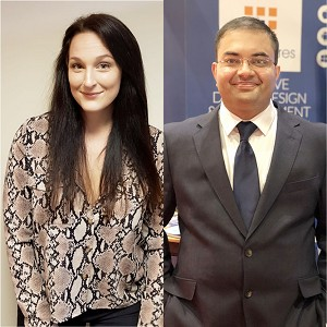 Pranay Misra & Roxanne Tanner, Speaking at the Business Show