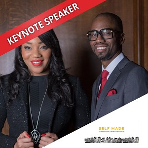 Bianca Miller-Cole & Byron Cole, Speaking at the Business Show