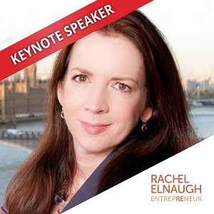Rachel Elnaugh, Speaking at the Business Show