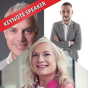 Alison Edgar, Darryl Praill & Daniel Disney, Speaking at the Business Show